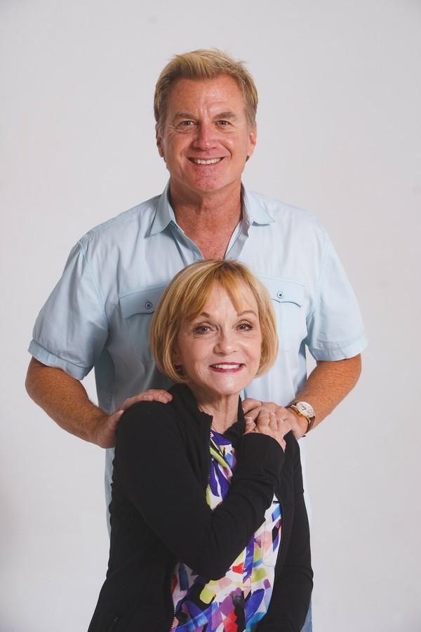 Tom McCoy and Cathy Rigby