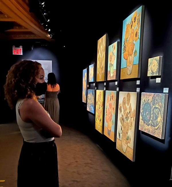 Gallery room - looking at sunflowers.jpg