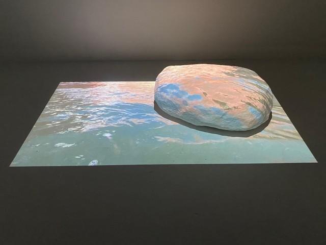 Wendy Wischer_Where Water and Rock Collide, 2021. Multi-media installation. Courtesy of the artist..jpg