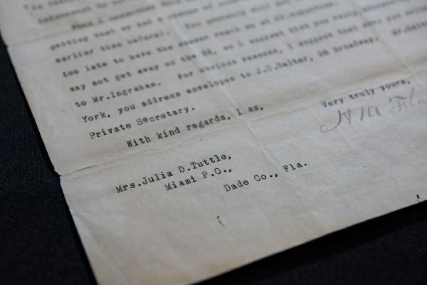 Tuttle Typed Address on Letter .jpg