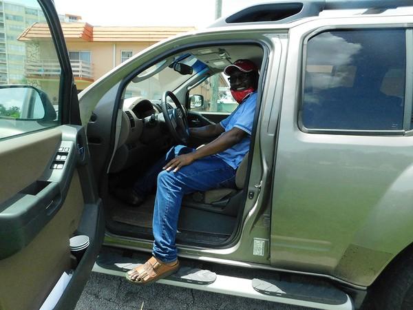 McKenzie Santvil is now living in his vehicle.JPG