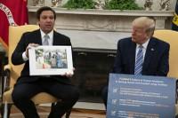 DeSantis at White House/COVID-19