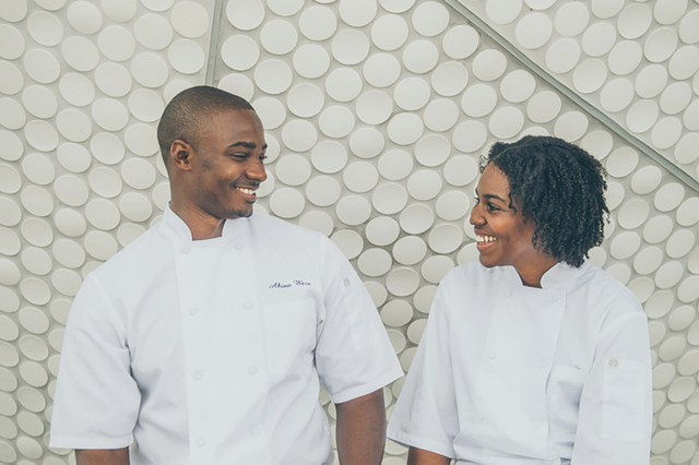 Akino West and Jamila Ross of Rosie's.