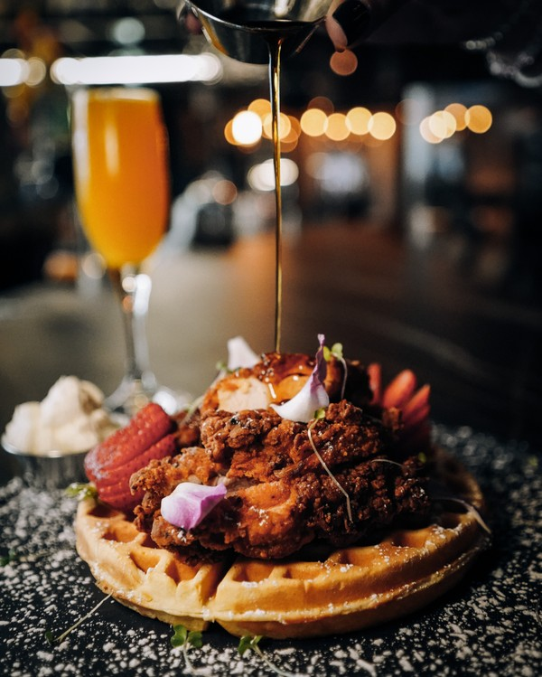 Le Chick - Chicken and Waffles.JPG