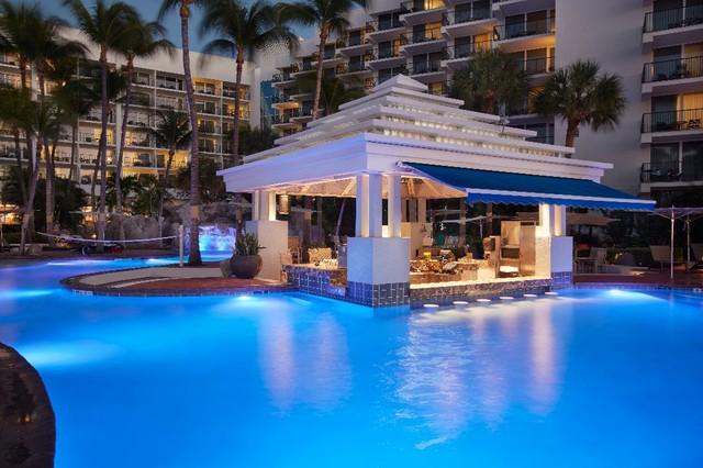 Swim up bar at the Aruba Marriott Resort & Stellaris  Casino.jpg
